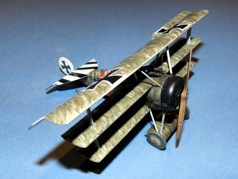 Fokker Dr.I 556/17 – Jasta 6 – Mars 1918 1/48 (+ dio) A00311