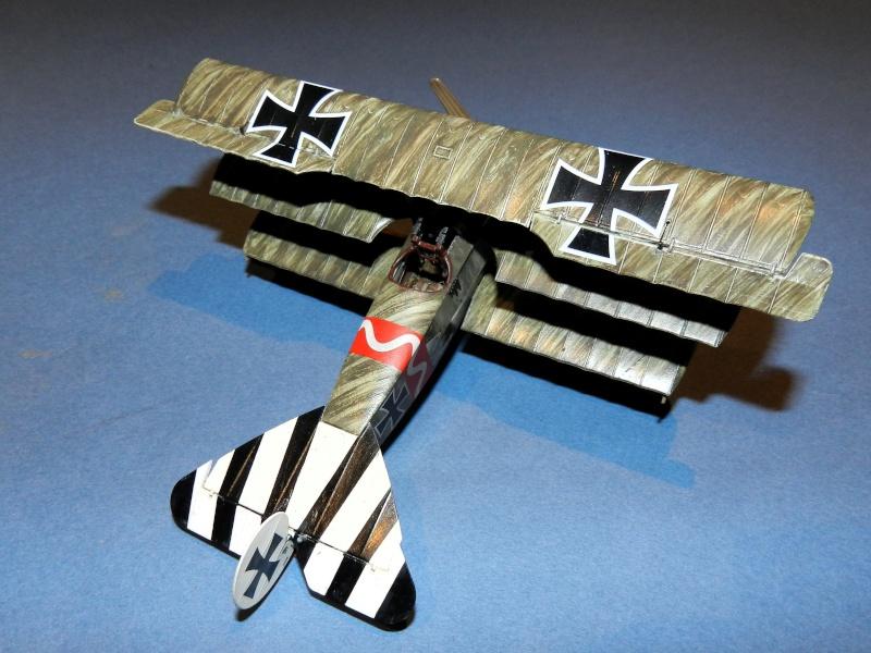 Fokker Dr.I 556/17 – Jasta 6 – Mars 1918 1/48 (+ dio) A00411