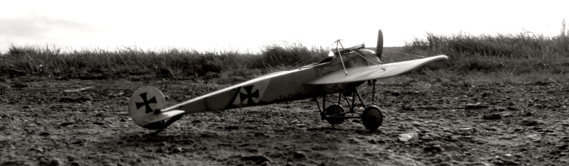 Fokker E.III Eindecker 105/15 - Ernst Udet - Fl. Abt. 68 / KEK Habsheim - Printemps 1916 A00610