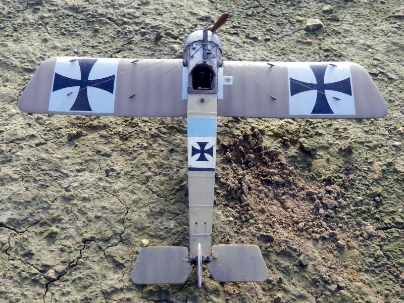 Fokker E.III Eindecker 105/15 - Ernst Udet - Fl. Abt. 68 / KEK Habsheim - Printemps 1916 B00110