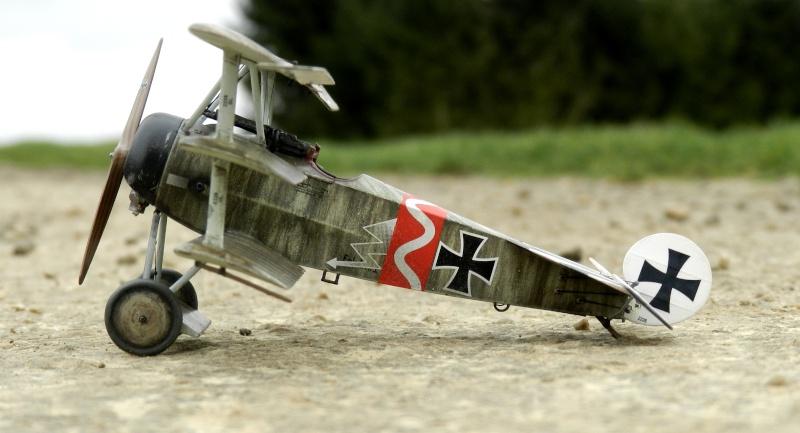 Fokker Dr.I 556/17 – Jasta 6 – Mars 1918 1/48 (+ dio) B00111