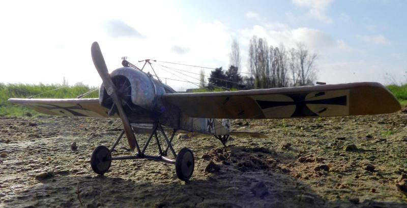 Fokker E.III Eindecker 105/15 - Ernst Udet - Fl. Abt. 68 / KEK Habsheim - Printemps 1916 B00210