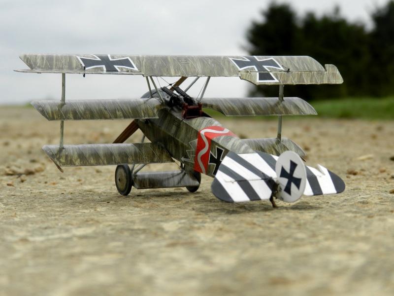 peinture brossée de Fokker Dr.I B00211