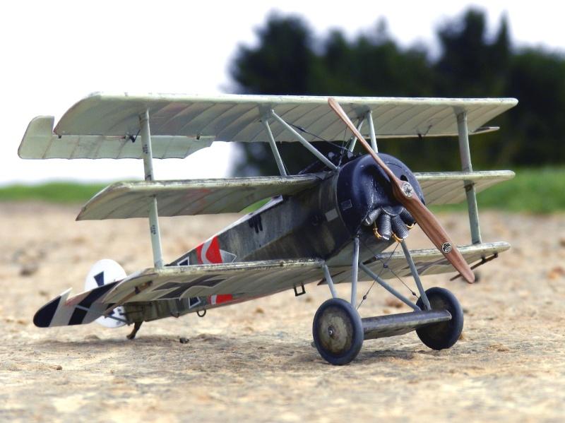 Fokker Dr.I 556/17 – Jasta 6 – Mars 1918 1/48 (+ dio) B00311