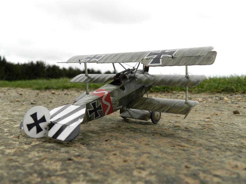 Fokker Dr.I 556/17 – Jasta 6 – Mars 1918 1/48 (+ dio) B00610