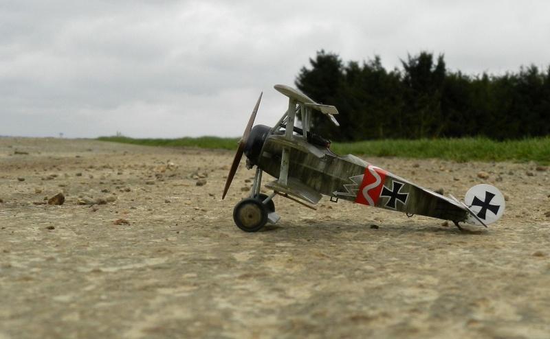 Fokker Dr.I 556/17 – Jasta 6 – Mars 1918 1/48 (+ dio) B00710