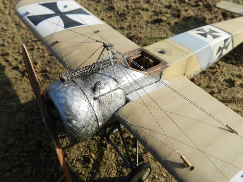 Fokker E.III Eindecker 105/15 - Ernst Udet - Fl. Abt. 68 / KEK Habsheim - Printemps 1916 C00310