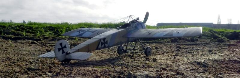 Fokker E.III Eindecker 105/15 - Ernst Udet - Fl. Abt. 68 / KEK Habsheim - Printemps 1916 D00210