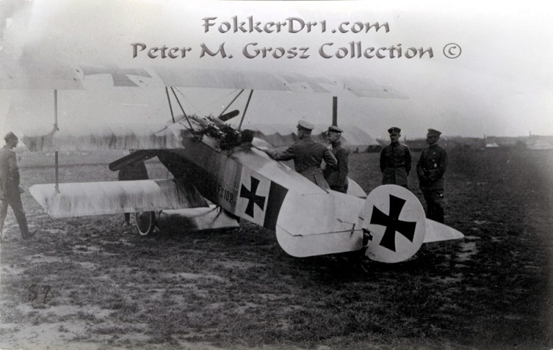 Fokker Dr.I 556/17 – Jasta 6 – Mars 1918 1/48 (+ dio) Fokker14