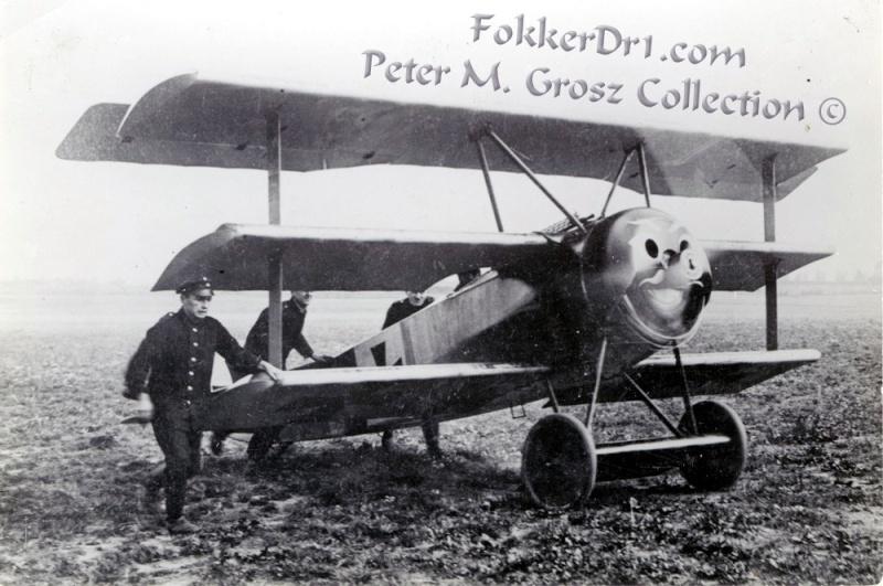 Fokker Dr.I 556/17 – Jasta 6 – Mars 1918 1/48 (+ dio) Fokker15