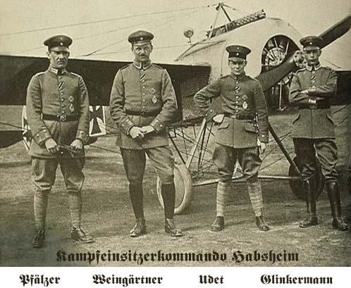 Fokker E.III Eindecker 105/15 - Ernst Udet - Fl. Abt. 68 / KEK Habsheim - Printemps 1916 Udet0110