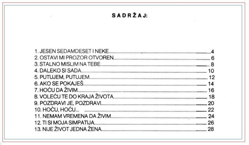 Miroslav Ilic - note Sadrza11