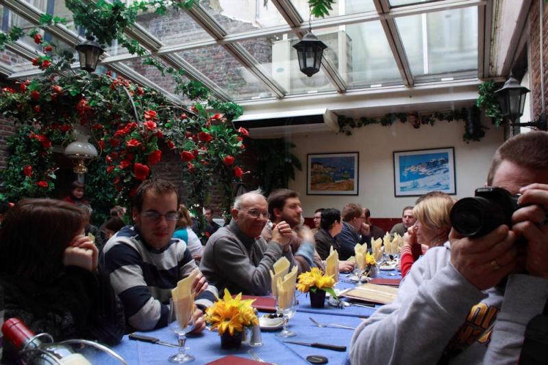 Grande sortie 2 ans beluxphoto - Namur - 31 janvier 2010 : Les photos d'ambiance Resto_10