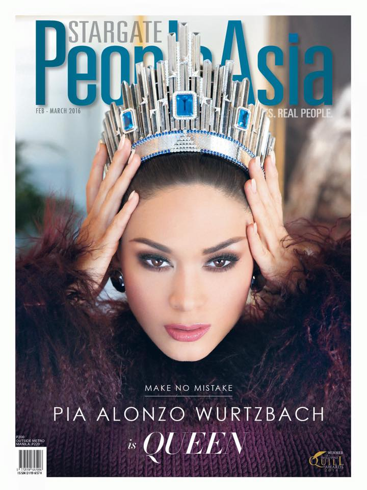 Pia Alonzo Wurtzbach- MISS UNIVERSE 2015- Official Thread - Page 3 12642710