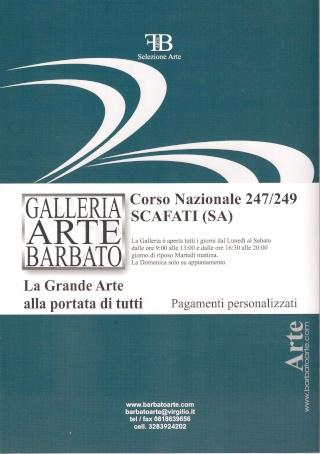 MOSTRA PERSONALE ALLA GALLERIA D'ARTE BARBATO (SA) - Pagina 3 Dep410