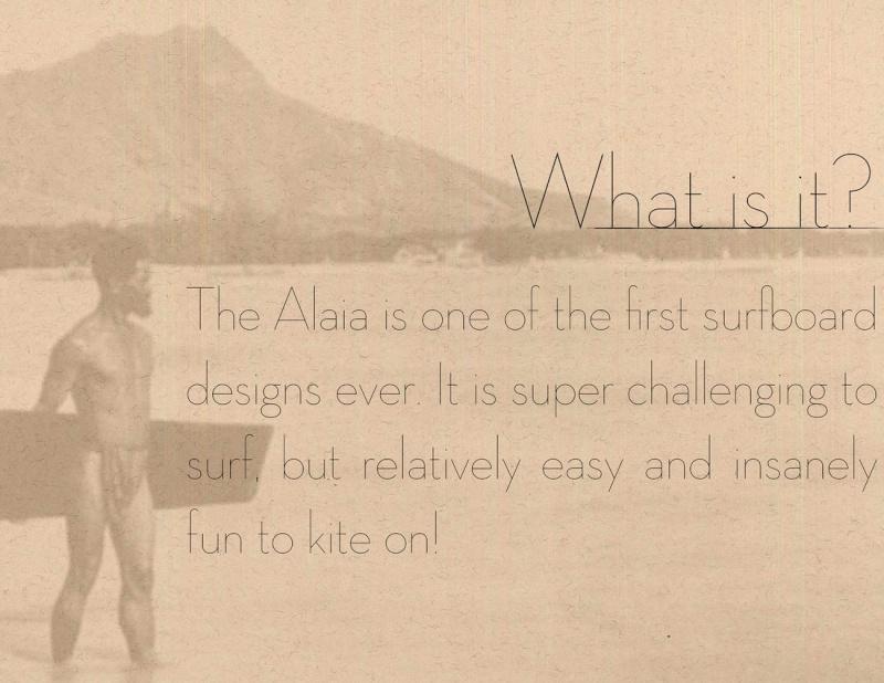 Alaia en light wind Waterl13