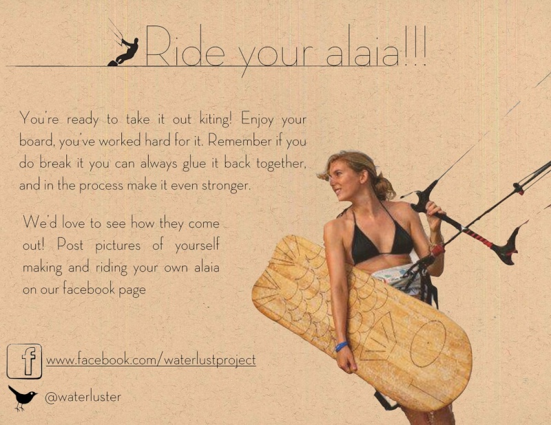 Alaia en light wind Waterl23