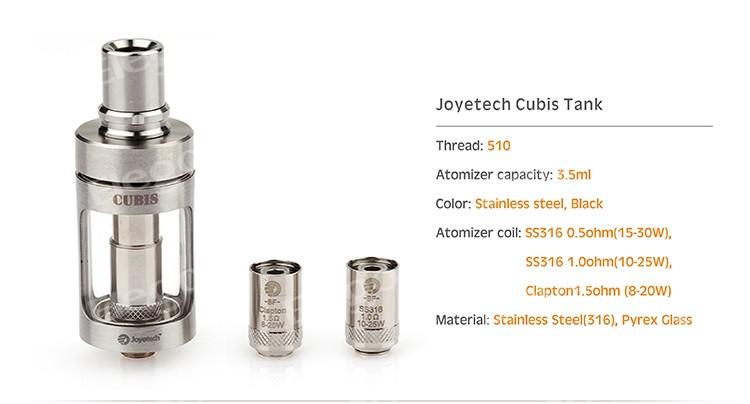 Joyetech Cubis Tank : le clearo pour tous ? Cubis_10