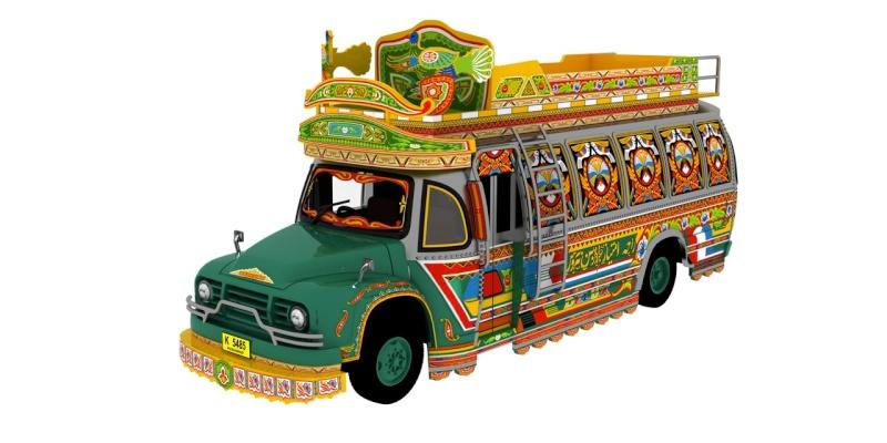 Autobus d'autrefois  -0110
