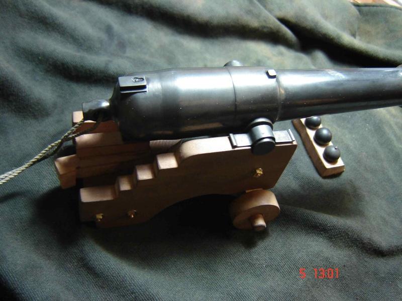 modèle de canon obusier 30 livres neapolitan 1 :18 Cannon14