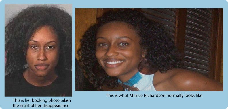 Remains found in Malibu Canyon id'ed as Mitrice Richardson, missing since Sept 2009/Parent's to Exhume Body 7.13.2011/Rpt by LA's *County* Office of Independent Review, Breakdown of Communication over Mitrice's remains Front-10
