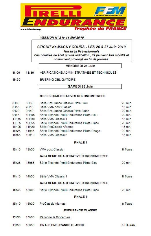 Endurance Magny Cours 25-26 juin Horair10