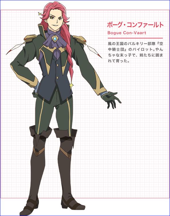 Character design Macross delta Bogue_10