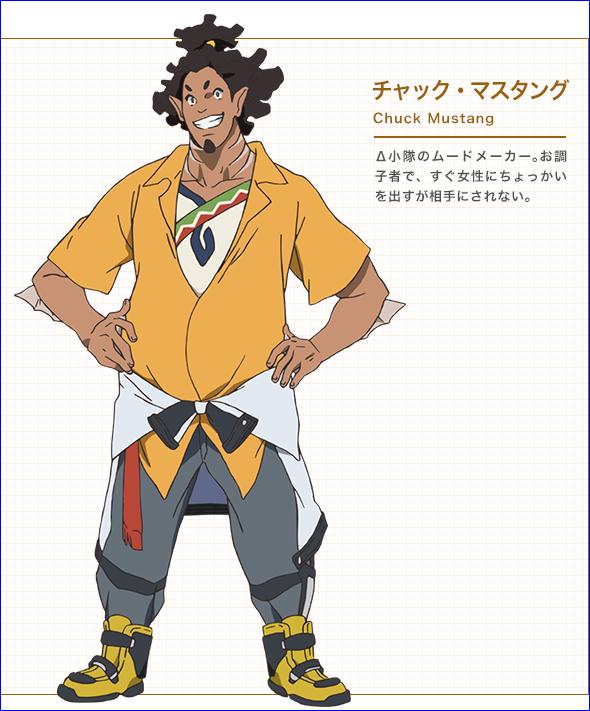 Character design Macross delta Chuck_10