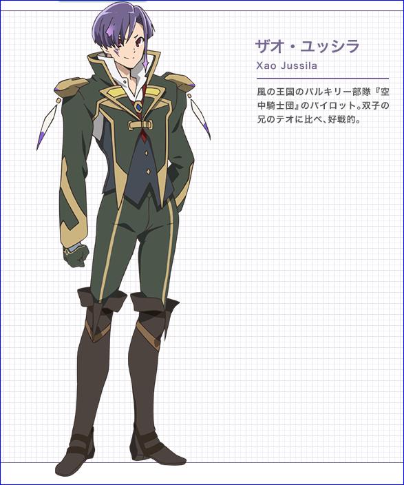 Character design Macross delta Xao_ju10