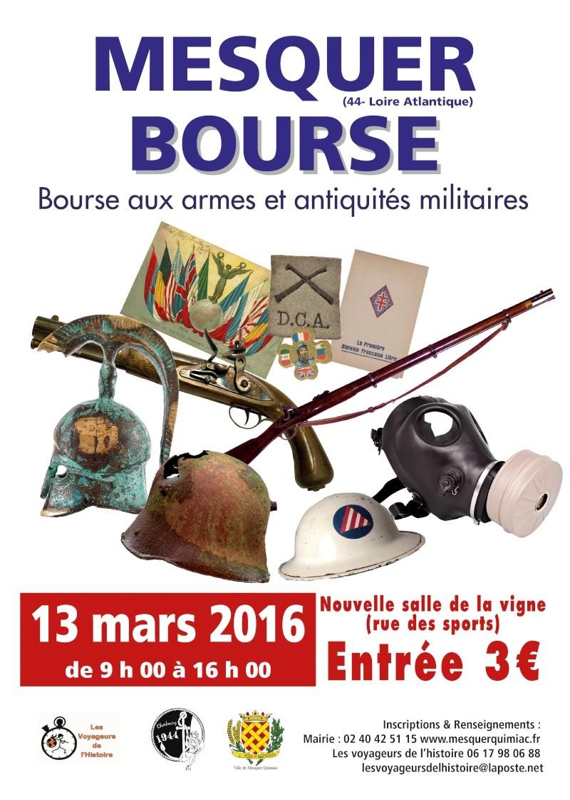 Bourse Militaria de Mesquer - 13 MARS 2016 Affich10