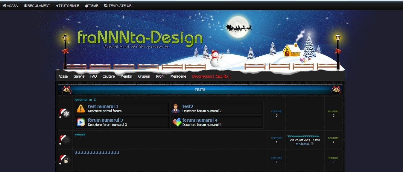 Tema de craciun : pHpbb2 Christmas Header10
