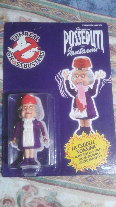 ghostbusters - Ghostbusters kenner 1984 la crudele nonnina  20151210