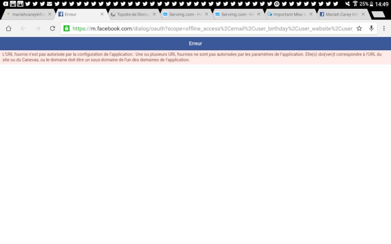 Facebook Connect: Message d'erreur quand on souhaite se connecter depuis la connexion rapide du bas du forum et sur la page de connexion Screen18