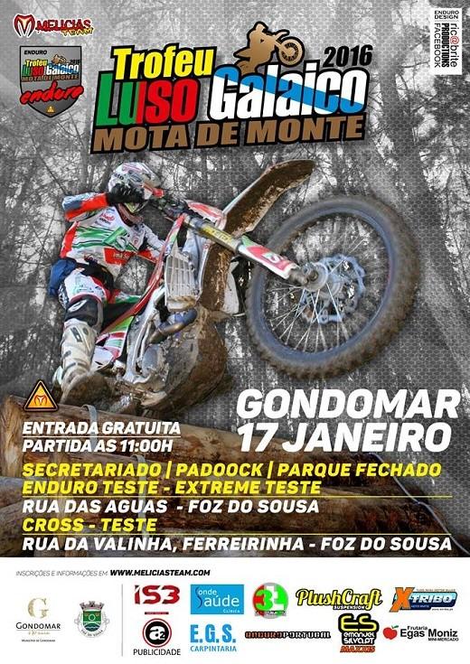 Troféu Luso Galaico 2016 - Gondomar Cartaz10