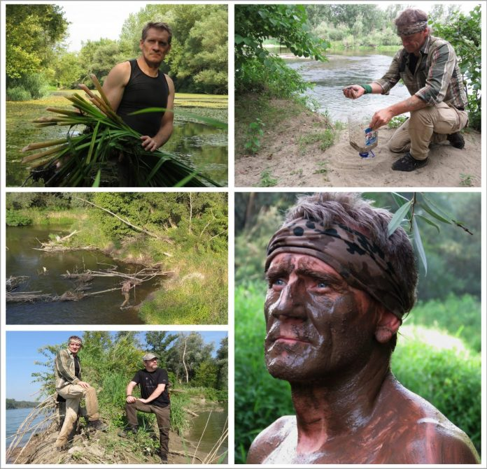 BUSHCRAFT on the Drava river Slika-10