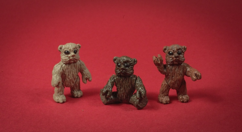 Star wars Ewoks kenner style CUSTOM  Baby_110