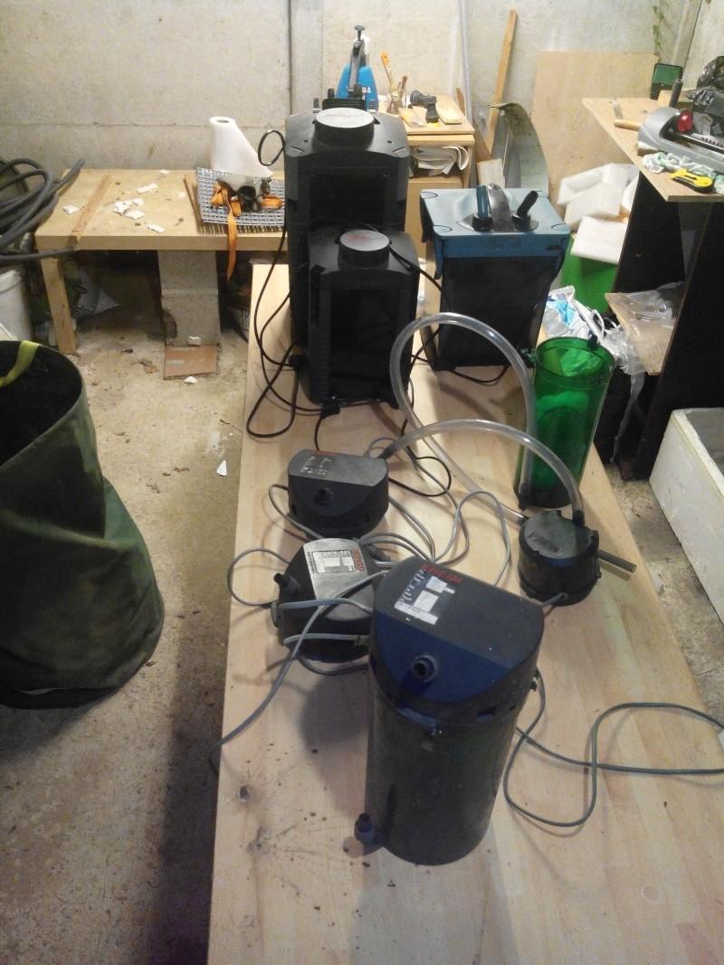 [vend] lot de pompes externes Pompe210