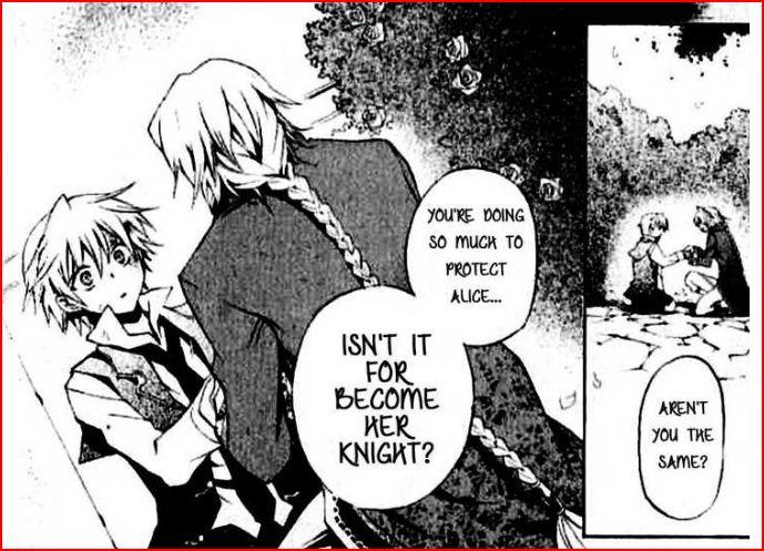 Pandora Hearts: Kapitel 18 Knight10