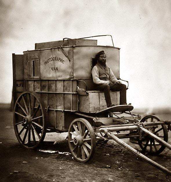 Crimean War Photographic Van Photog10