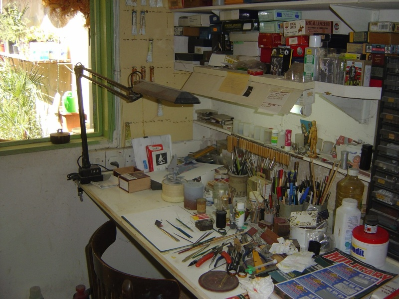 What does your workshop look like? Pictu149