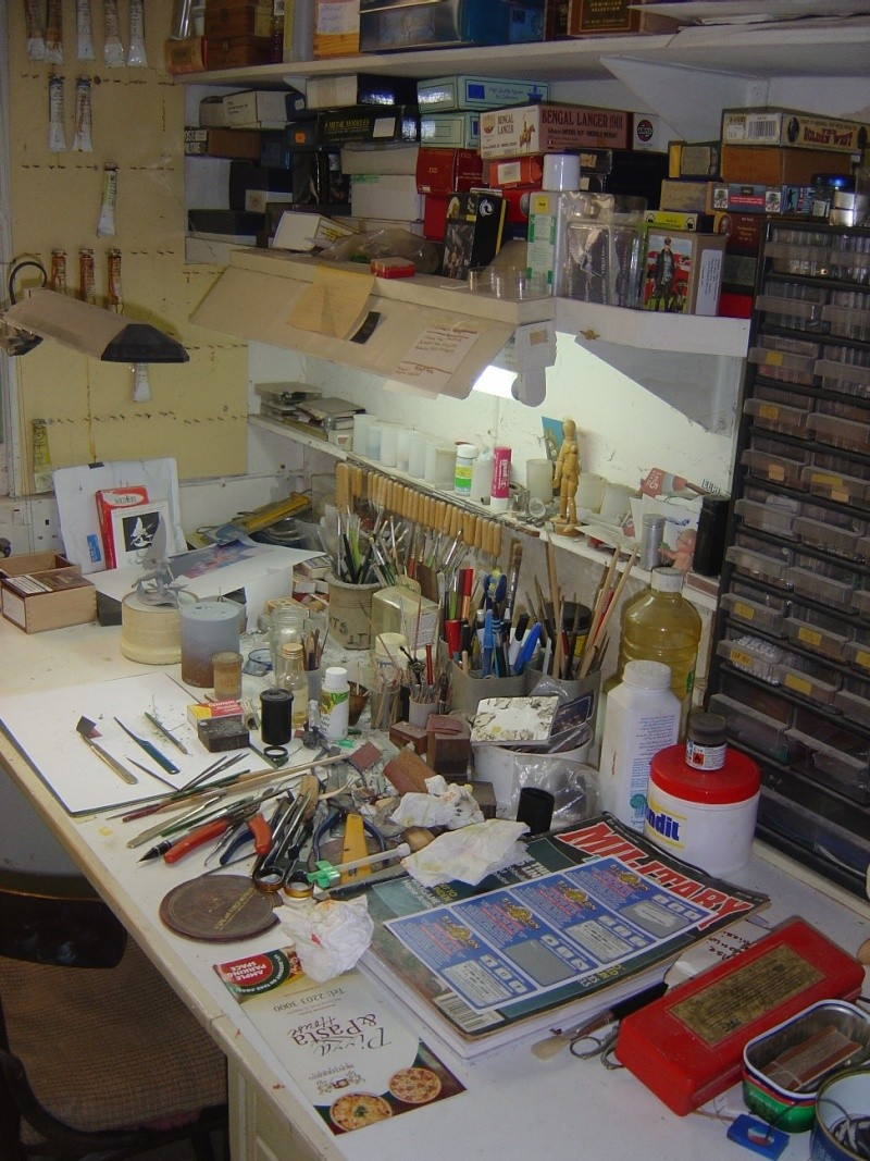 What does your workshop look like? Pictu155