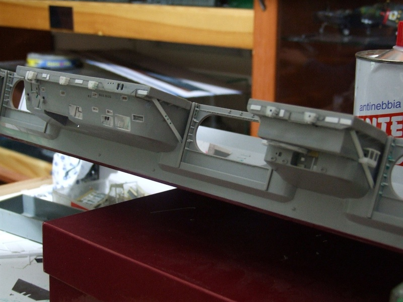 My new project..USS Nimitz CVN 68 1976  - Page 4 Dscf7910