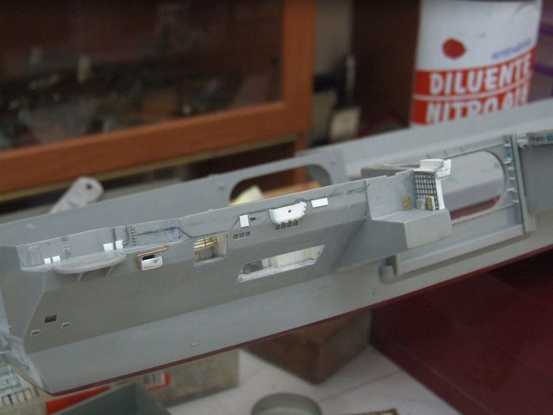 My new project..USS Nimitz CVN 68 1976  - Page 4 Dscf7916