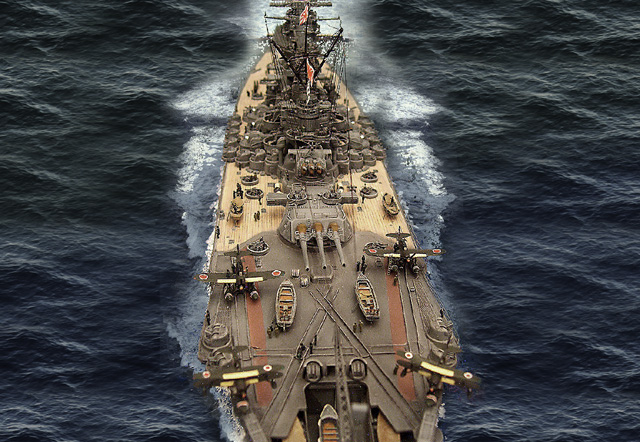 Step by Step building the IJN Yamato - Page 5 Yamato10