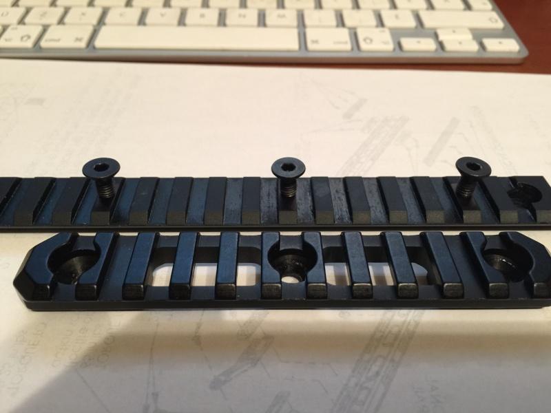 faire trois trous dans un rails picatinny  Img_3013