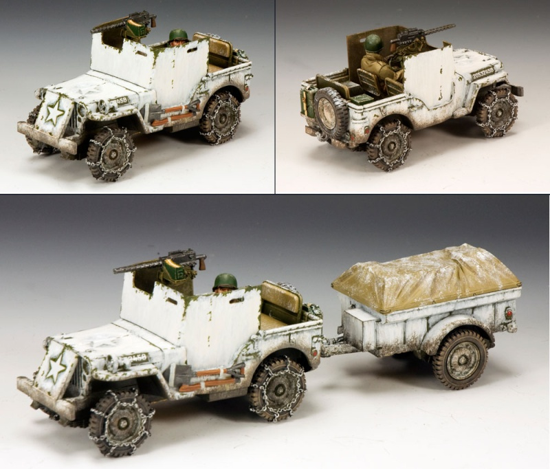 King and country 1/30eme Jeep_b10