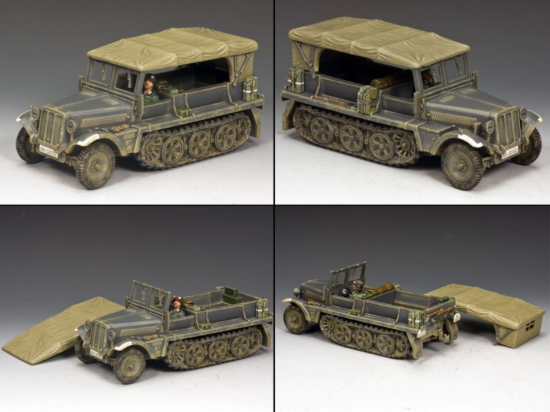King and country 1/30eme Kfz10_10