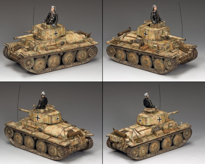 King and country 1/30eme Panzer12