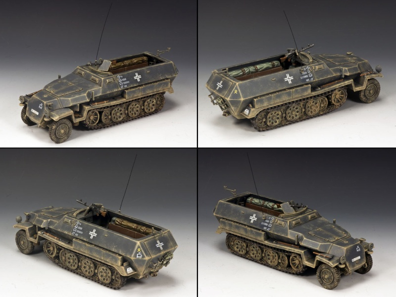 King and country 1/30eme Sdkfz_10
