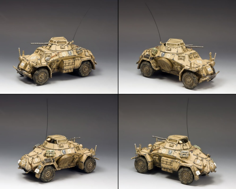 King and country 1/30eme Sdkfz_12